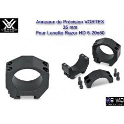 Anneaux VORTEX 35 mm pour Lunette Razor HD 5-20x50