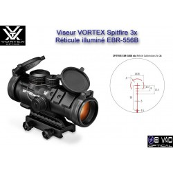 Viseur VORTEX Spitfire 3X - Prism Scope pour M4, AR15