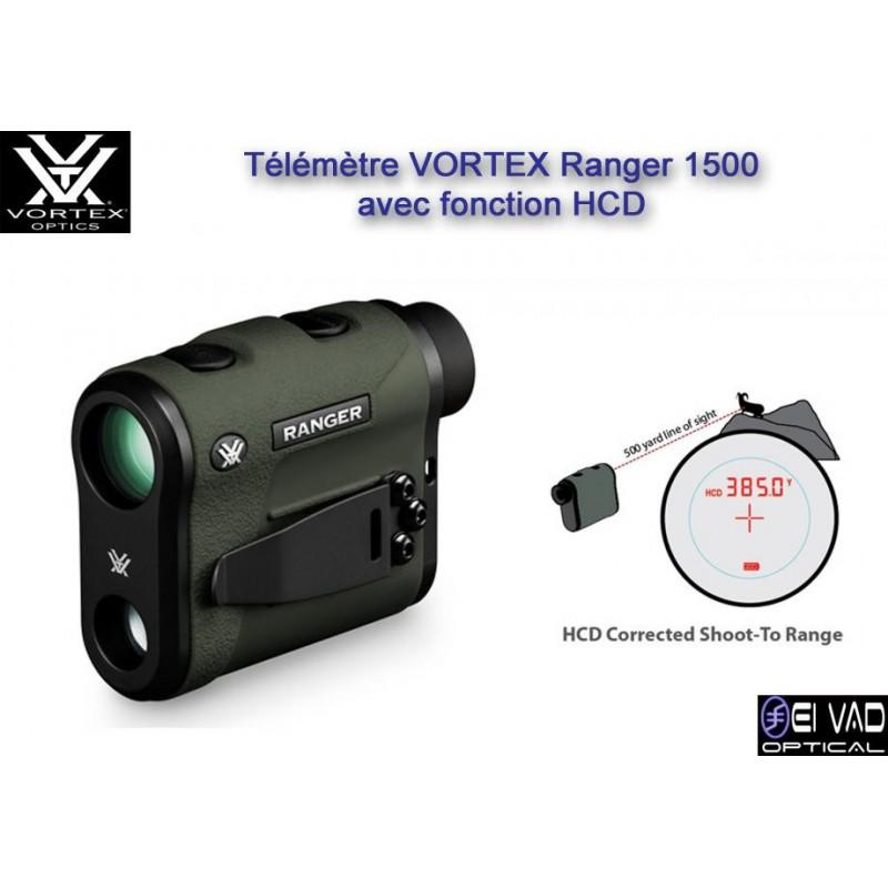 Télémètre VORTEX Ranger 1500 avec fonction HCD