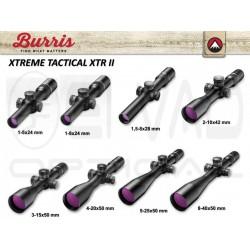 Lunette BURRIS XTREME TACTICAL XTR II TLD - 8-40x50 Réticule F-Class