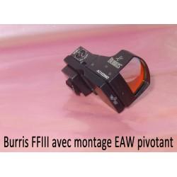 Montage pivotant EAW pour BURRIS FastFire ou DocterSight