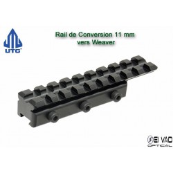 UTG - Rail de conversion 11 mm vers Picatinny