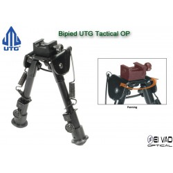 Bipied UTG Tactical pour rail picatinny ou grenadière