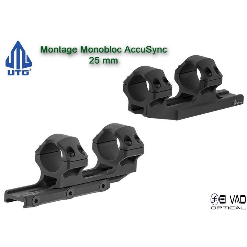 UTG - Montage Monobloc pour lunette de 25 mm