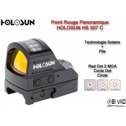Point Rouge Panoramique HOLOSUN HS 507 C - Technologie solaire