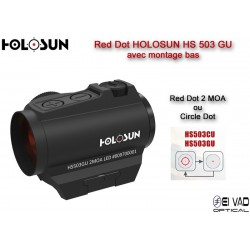Point Rouge HOLOSUN HS 503 GU - Point 2 MOA ou Cercle 65 MOA