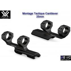 Montage Tactique VORTEX Cantilever 25 mm (1 pouce)