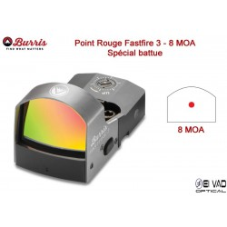 Point Rouge BURRIS Fastfire III - 8 MOA spécial battue
