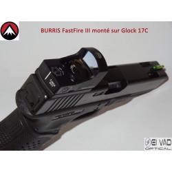 BURRIS -  Point rouge FastFire 3 avec embase pour GLOCK