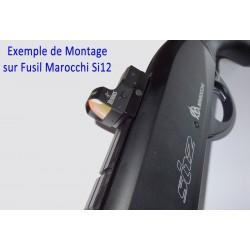 BURRIS - FastFire III 3 MOA avec rail pour fusil semi-auto