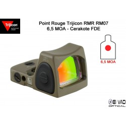 Point Rouge TRIJICON RMR RM07 Type 2 - 6,5 MOA - pour GLOCK