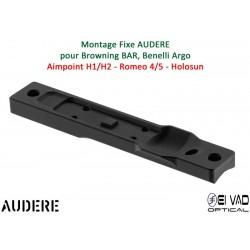 Montage Fixe AUDERE pour BAR, ARGO - base Micro H1/H2