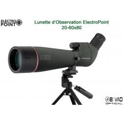 Longue Vue Electro Point 20-60x80 avec trépied de table