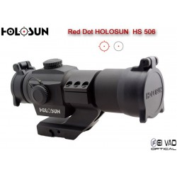 Point Rouge HOLOSUN HS 506 - Point 2 MOA ou Cercle 65 MOA