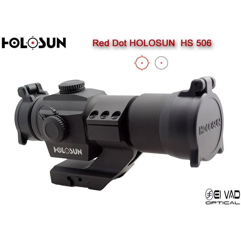 Point Rouge HOLOSUN HS 506 - Point 2 MOA ou Cercle 65 MOA