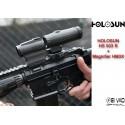 Pack Holosun - Point Rouge HS 503 R + Magnifier HM3X