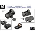 Point Rouge VORTEX Venom - avec embase pour Glock
