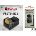 BURRIS -  Point rouge FastFire 3 avec embase Burris pour Glock