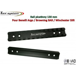 Rail Picatinny Tony System pour Benelli Argo, Browning BAR, Winchester SXR