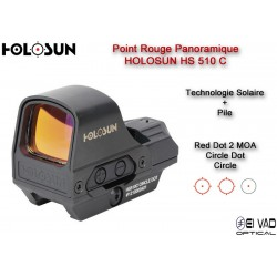 Point Rouge Panoramique HOLOSUN HS 510 C - Technologie solaire