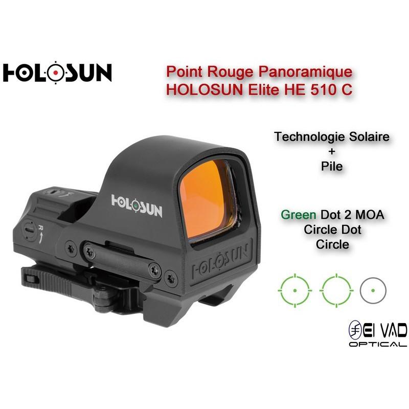 Point Rouge Panoramique HOLOSUN Elite HE 510 C - Technologie solaire