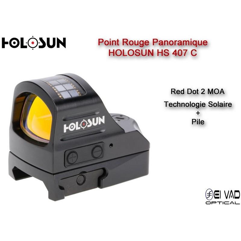 Point Rouge Panoramique HOLOSUN HS 407 C - 2 MOA