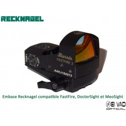 Montage Amovible ERA RECKNAGEL pour Rail Weaver - BURRIS Fastfire, DocterSight et MeoSight