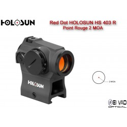 Point Rouge HOLOSUN HS 403 R - 2 MOA