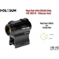 Point Rouge HOLOSUN Helite HE 503 R - Circle Dot Jaune