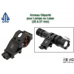 UTG - Anneau Déporté pour Lampe ou Laser - Rail Picatinny