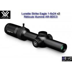New ! Lunette VORTEX Strike Eagle 1-6x24 - Réticule lumineux
