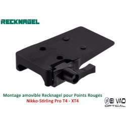 Montage Amovible ERA RECKNAGEL pour Rail Weaver - Nikko-Stirling ProT4 - XT4
