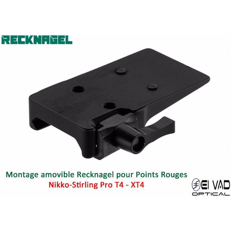 Montage Amovible ERA RECKNAGEL pour Rail Weaver - Nikko-Stirling ProT4 - XT4