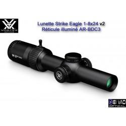 New ! Lunette VORTEX Strike Eagle 1-8x24 - Réticule AR-BDC3