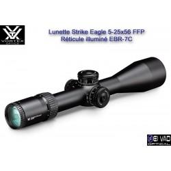 Lunette VORTEX Strike Eagle 5-25x56 FFP - Réticule EBR-7C Mrad