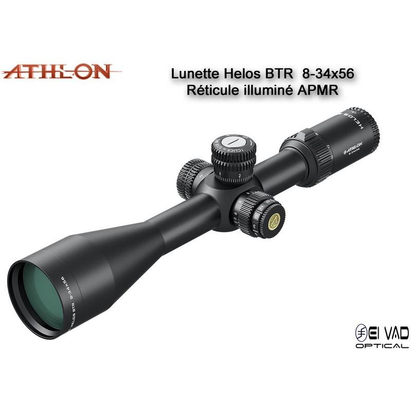 Lunette ATHLON HELOS BTR 8-34x56 - Réticule APMR