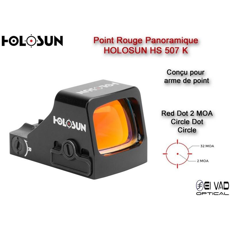 Point Rouge Panoramique HOLOSUN HS507K - 2 MOA - Arme de point