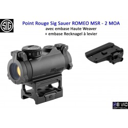 Point Rouge Sig Sauer Romeo MSR - 2 MOA Version Chasse