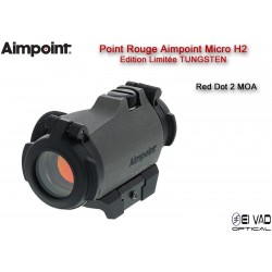 "Point Rouge AIMPOINT Micro H2 - 2 MOA ""Edition limitée - Tungstène"""