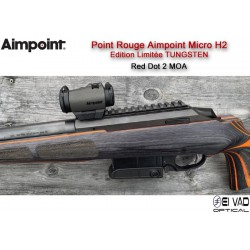 """Point Rouge AIMPOINT Micro H2 - 2 MOA """"Edition limitée - Tungstène"""""""