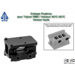 UTG - Montage Haut pour Trijicon RMR - Holosun 407C & 507C
