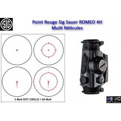 Viseur SIG SAUER Roméo 4H - 2 MOA Circle Dot