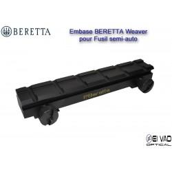 Embase BERETTA Weaver pour Fusil semi-auto