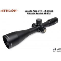 Lunette ATHLON ARES ETR  UHD 4,5-30x56 - Réticule APRS1