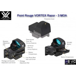 Point Rouge VORTEX Razor - 3 MOA