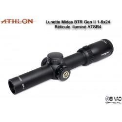Lunette ATHLON Midas BTR GEN2 HD 1-6x24 - Réticule ATSR4