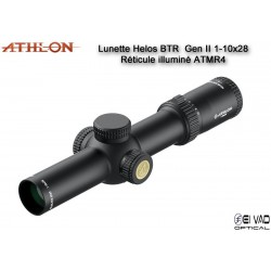 Lunette ATHLON Midas Helos BTR GEN2 1-10x28 - Réticule ATMR4