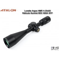 Lunette ATHLON Argos HMR 4-20x50 - Réticule BDC 600 A